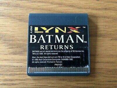 Atari Lynx Unboxed Game - Batman Returns by Atari Corp