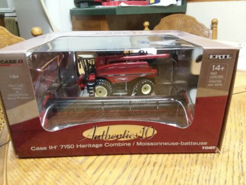 1/64 Case IH 7150 Heritage Combine Authentics 10 Ertl