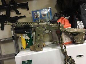 Dye DAM paintball gun