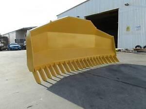 14FT LOADER STICK RAKE WITH HYDRAULIC TILT Rocklea Brisbane South West Preview