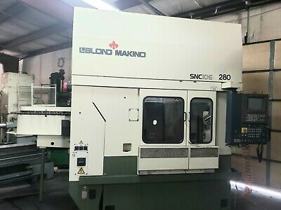 Makino Snc 106-a Cnc Vertical Machining Center