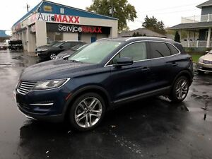 2015 Lincoln MKC ECOBOOST AWD- NAVIGATION SYSTEM, PANORAMIC SUNR