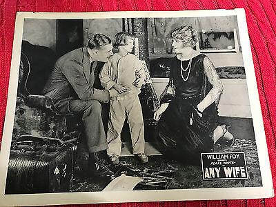 Any Wife 1922 Fox silent lobby card Pearl White Gilbert Emery