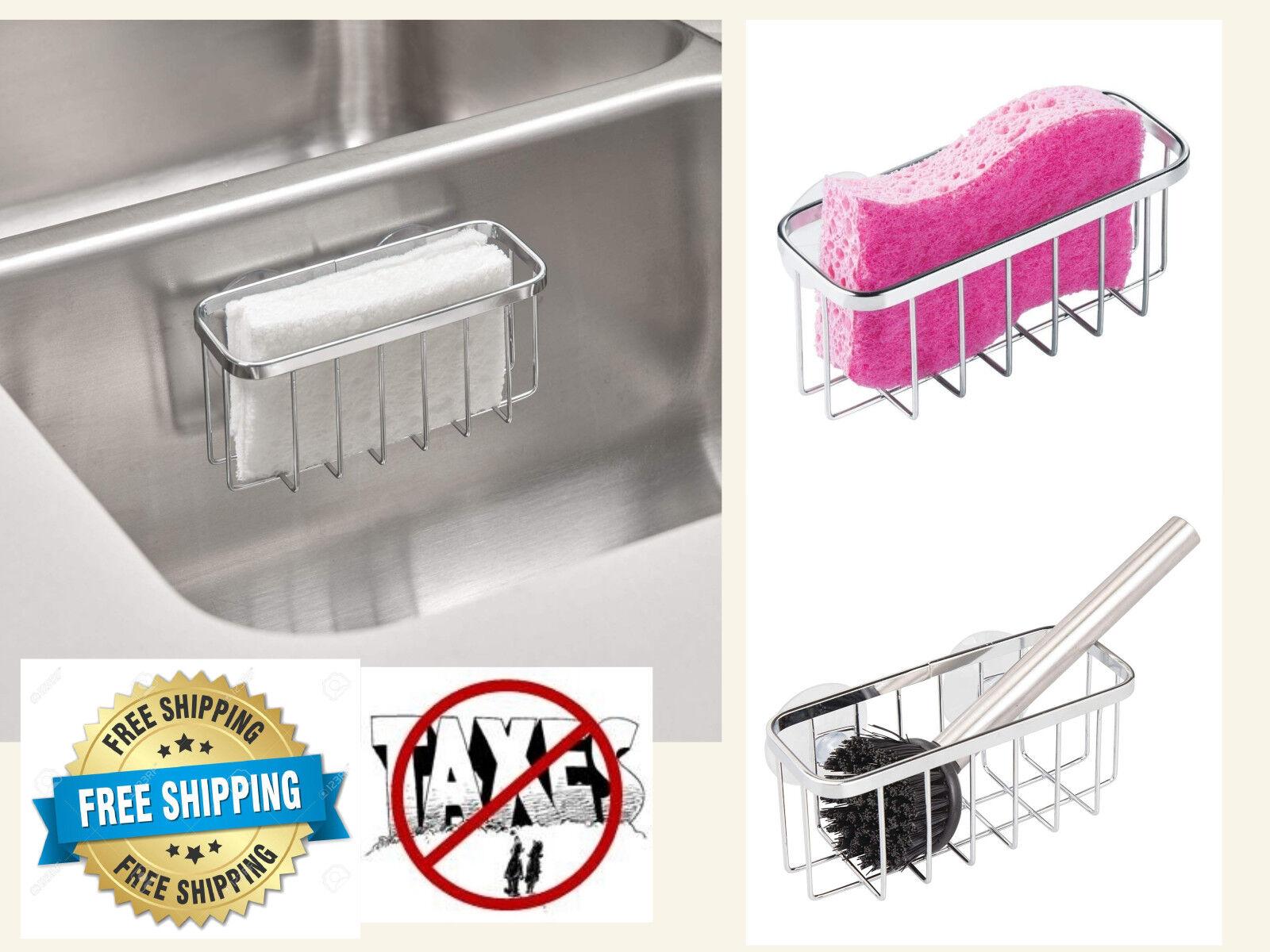 """Interdesign Suction Sink Center 18/8 Stainless Steel 5-3/4"""""""