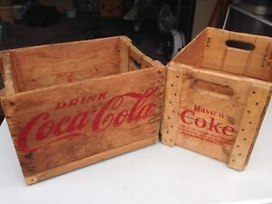 Coca-cola coffee table ends