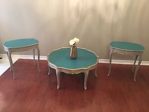 Coffee Table/End Tables Set