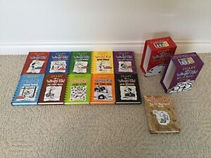 11 Books of DIARY of a Wimpy Kid ( Hardcover)