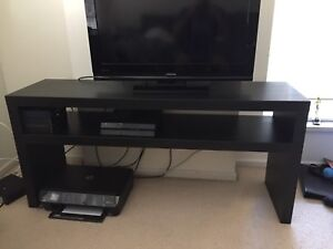 IKEA lack tv stand black-brown
