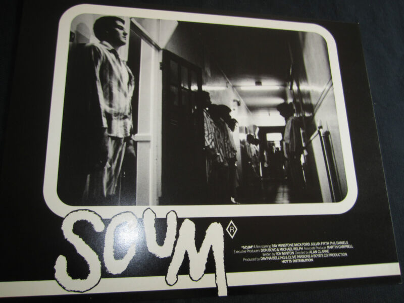 SCUM original RAY WINSTONE-BRITISH CLASSIC-LOBBY CARD SET