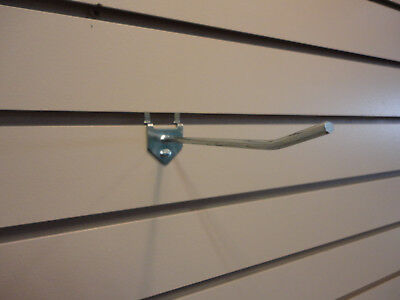 Slatwall Metal Hooks 6 Chrome - Box Of 100