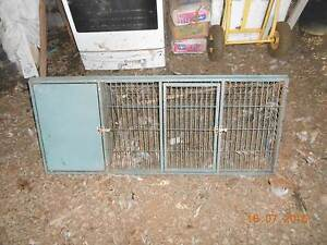 STEEL RABBIT CAGE WITH HUTCH Merrigum Outer Shepparton Preview