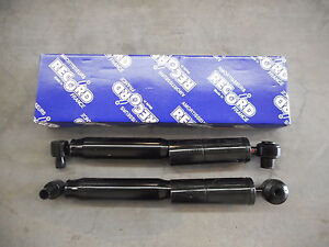 PAIR OF REAR SHOCKERS SHOCK ABSORBERS RENAULT SCENIC 2WD 2001-2004 7700429977