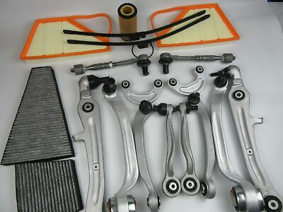 Bentley Continental W12 filter set + control arms sway bar links tie rod #313