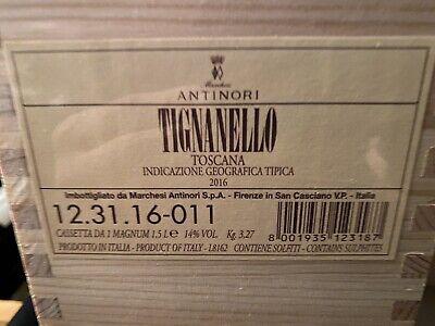 tignanello 2016 Magnum Owc Sigillato