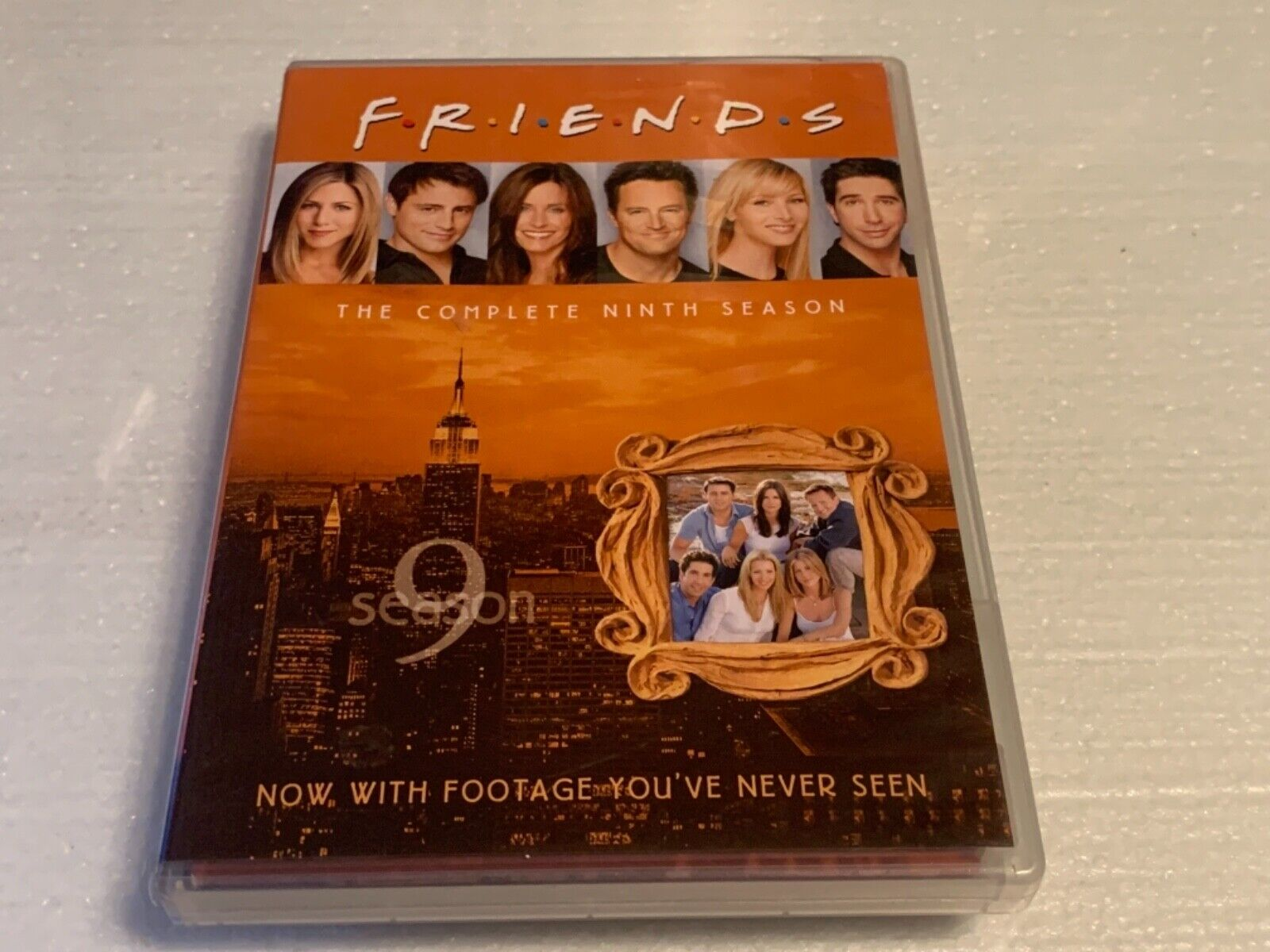 Friends - The Complete Ninth Season DVD, 2010, 4-Disc Set  - $7.50