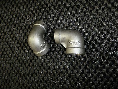 Stainless Steel Elbow 90 Reducer 38 - 14 Npt Pipe Re-037-025