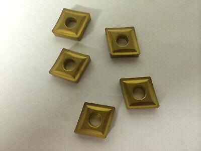 5 Pcs Kennametal Cnmp 643 Kc850 Carbide Inserts