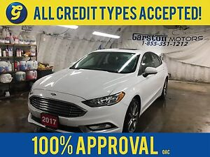 2017 Ford Fusion SE*POWER SUNROOF*LEATHER TRIMMED*BACK UP CAMERA
