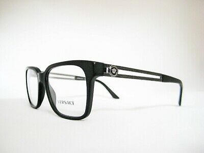 new authentic VERSACE Eyeglasses VE3218 5122 Black Sand 53mm