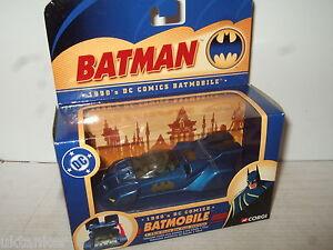 Corgi-Batman-serie-77303-ANOS-90-DC-Comics-BATMOBILE-bmbv1-in-1-43-SCALE