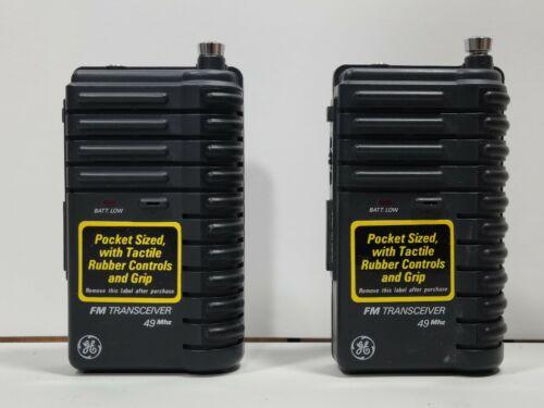 GE General Electric 49 Mhz FM Transceiver No.3-5946A Walkie-Talkies