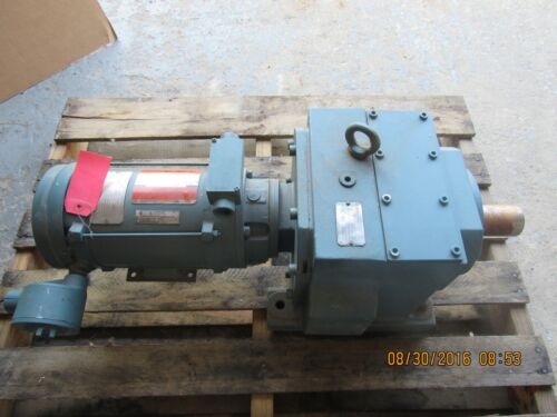 DODGE QUANTIS GEAR DRIVE HB883CN140TC 300.41 :1 w/ 1HP MOTOR NEW