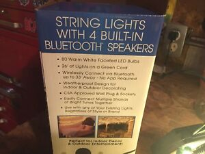 String lights with Bluetooth