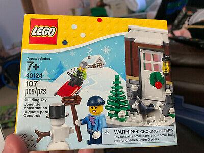 Lego New 40124 Winter Fun / Christmas Seasonal Holiday Retired Set