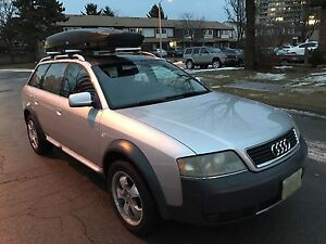 2002 AudiAllRoad Quattro Fully Loaded Emission tested