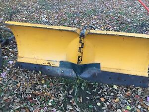 5 & 6 foot trackless snow plows