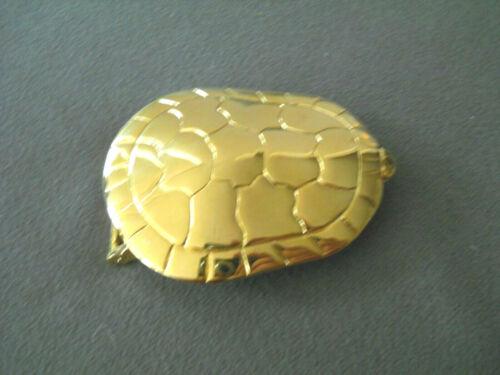 Southwestern Style Vermeil Sterling Silver Turtle / Tortoise Pin Belt Buckle