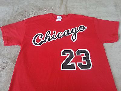 Chicago Bulls Michael Jordan Rookie year vtg style Jersey T-shirt Sweatshirt.