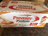 For sale a case of 18 Carmel Protein shakes $40