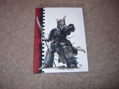 Warhammer 40K Grey Knights Space Marines Limited/Collectors Edition Codex