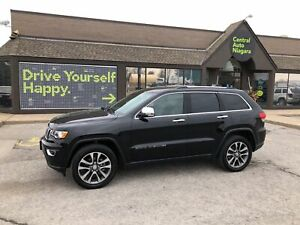 2018 Jeep Grand Cherokee Limited / SUNROOF / NAVIGATION / SUNROO