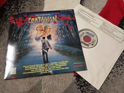 Contagion Laserdisc Horror Australian John Doyle