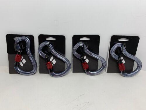 Black Diamond Gridlock Screwgate Carabiner Locking Carabiner