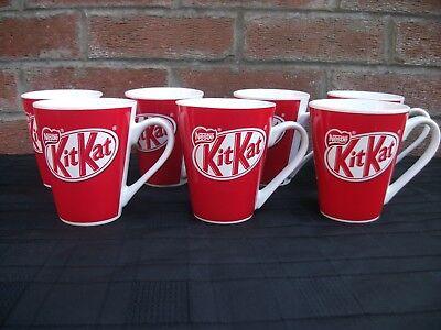 Nestle Kit Kat mug set of 7 vintage VGC