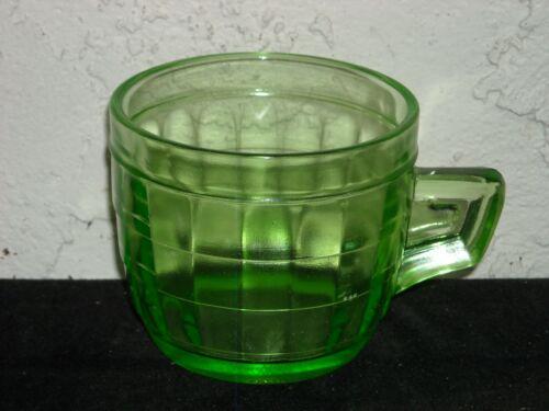 Block Optic Mug  Green
