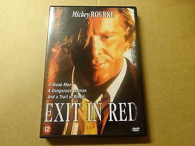 DVD / EXIT IN RED ( MICKEY ROURKE... )