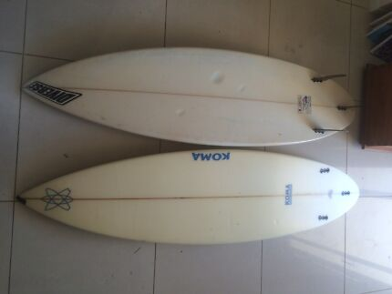 2 surf boards  Miami Gold Coast South Preview