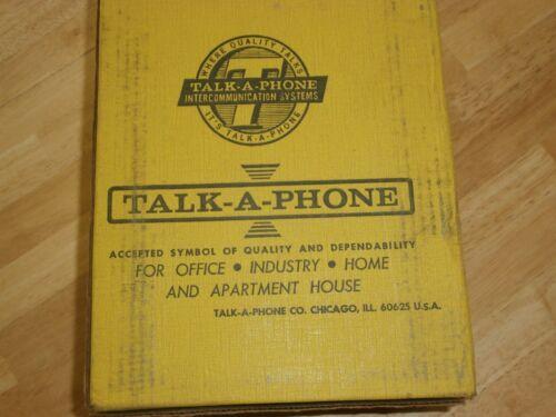 Talk-A-Phone KS-100W Intercom Weatherproof Wall Switch,NIB/NOS