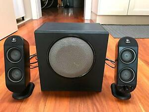 Great Logitech X-230 Speakers Subwoofer North Sydney North Sydney Area Preview