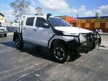 2011 Toyota Hilux 4x4 Dual Cab Chassis Manual Turbo Diesel Kallangur Pine Rivers Area Preview