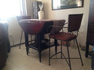 Pier One Pub Height Table and Chairs