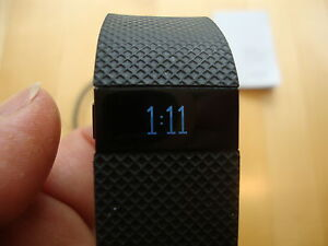 Fitbit Charge HR - Small Black