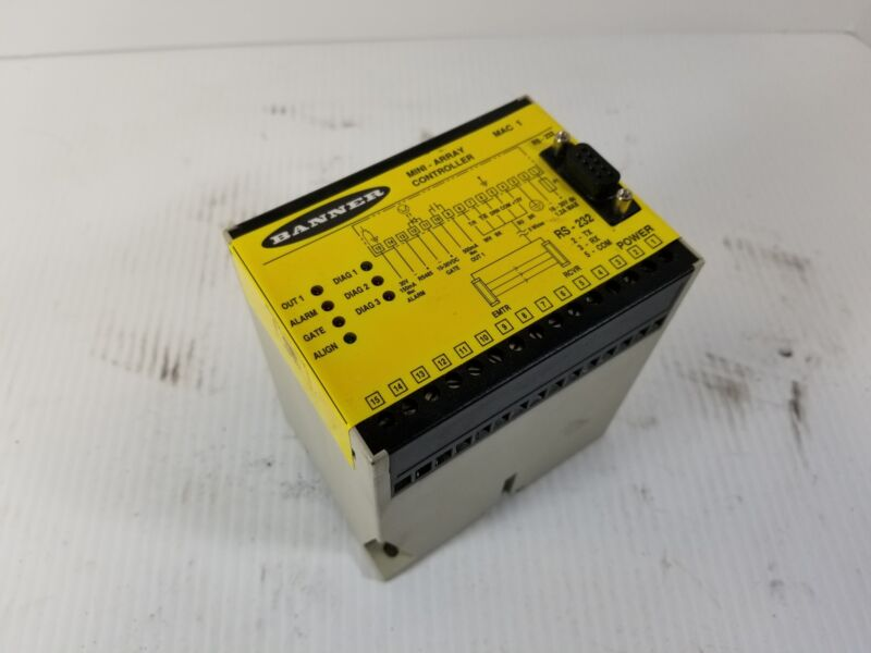Banner RS-232 MAC-1 Mini-Array Controller