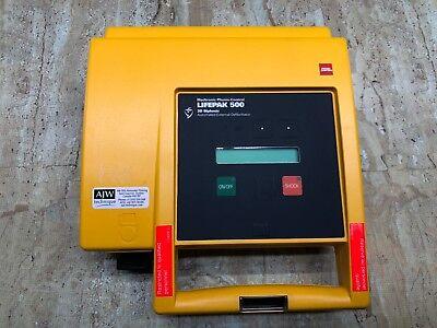 Lifepak 500 Biphasic - Tested For Power On.