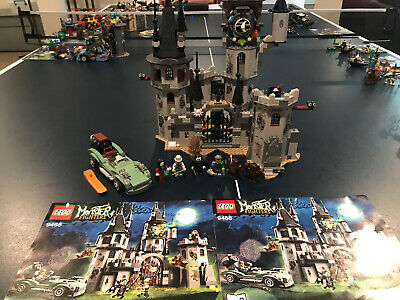 LEGO Monster Fighters - Castle Vampyre (9468) - 100% Complete with Manuals