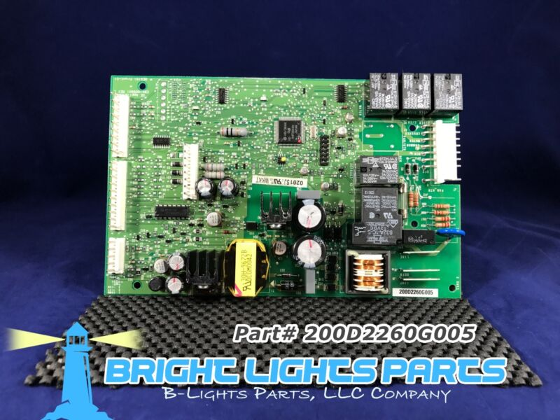 Ge Main Control Board For Ge Refrigerator 200d2260g005 Green